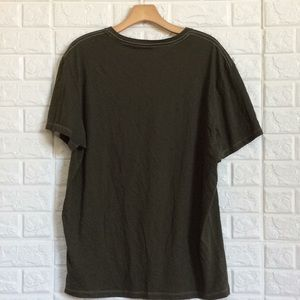 Banana Republic Shirts - Banana republic moss green New York soft tee